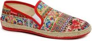 Desigual: TAORMINA MICRORAPPORT -Shoes, Red