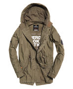 Superdry: Rookie aviator patched parka