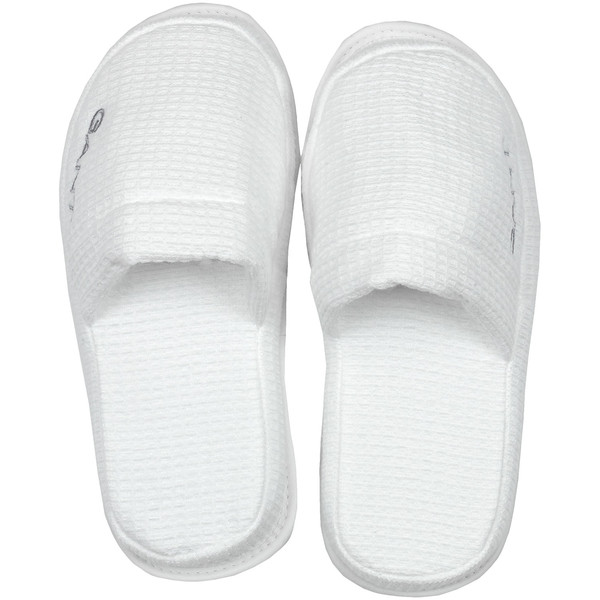 Gant: Waffle slippers Small, White