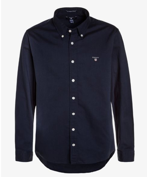 Gant: TU. archive oxford B.D shirt, evening blue