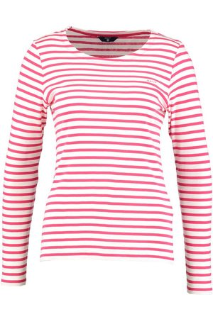 Gant: Striped T-Shirt, Rose Red