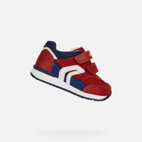 Geox: Baby Rishon, B.A, First steps, Red/Blue