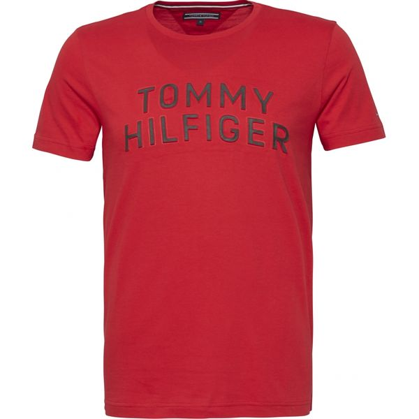 Tommy Hilfiger: Tommy graphic tee, Red